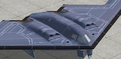 Northrop B-2A Spirit AlphaSim FS2004