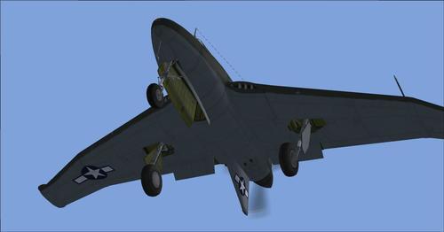 Northrop XP-56 Black Bullet FSX