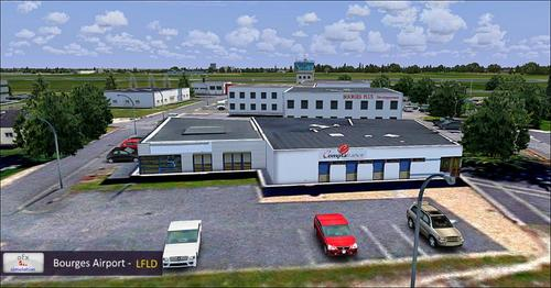 OFX Bourges LFLD FSX in P3D