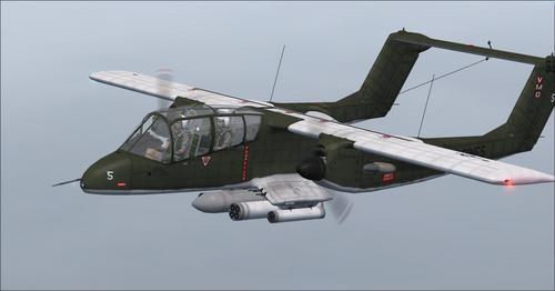 வட அமெரிக்க ராக்வெல் OV-10A ப்ரோன்கோ தொடர் FSX