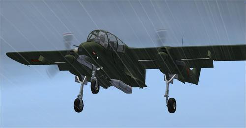 Nò Ameriken Rockwell Vo-10A Bronco Seri FSX