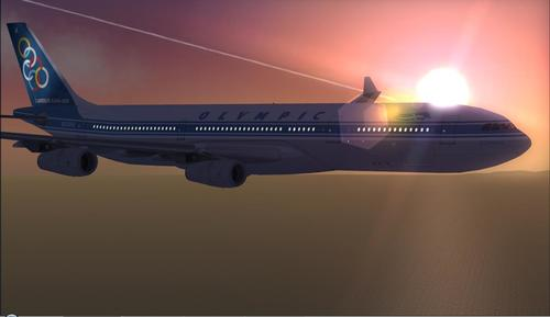 Airbus A340-300 Olympic Airlines FSX