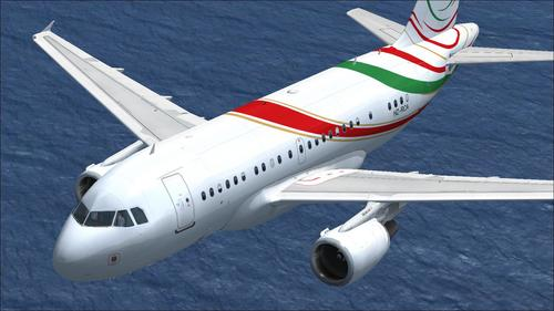 PA ኤርባስ A318-112 CJ Elite የሳውዲ RCA FSX
