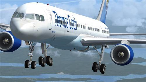 POSKY Boeing 757-300 Thomas Cook FSX
