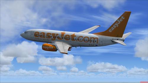 POSKY Boeing B737-700 Easyjet FSX & P3D