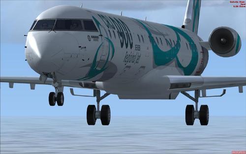 POSKY angapangire zipangizo CRJ 900 FSX