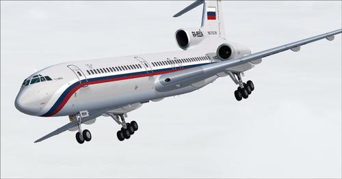 PT Tupolev Tu-154B-2 v1.1 FSX & P3D