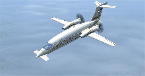 Piaggio P-180 Avanti II FSX & P3D