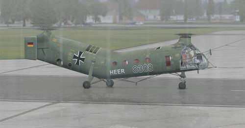 Piasecki H-21C Fying Banana FSX