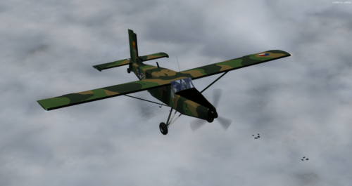 Pilatos PC-6C H2 Porter FSX  &  P3D