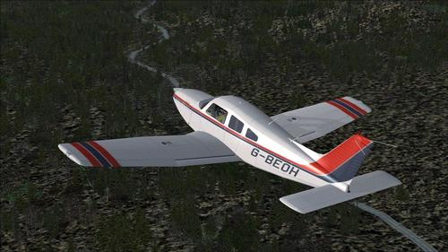 Piper Cherokee Arrow III FSX turbo