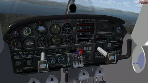 Piper Cherokee Arrow III turbo FSX