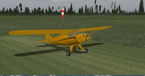 I-Piper PA-11 i-Cub Special X-Plane  10