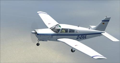 Piper PA-28R-201 Arrow III FSX in P3D