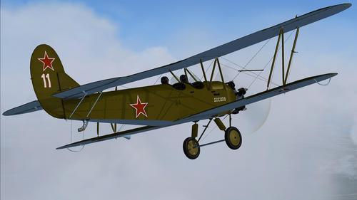 Polikarpov U-2 (Po-2) pozdní série v1.0 FSX  &  P3D