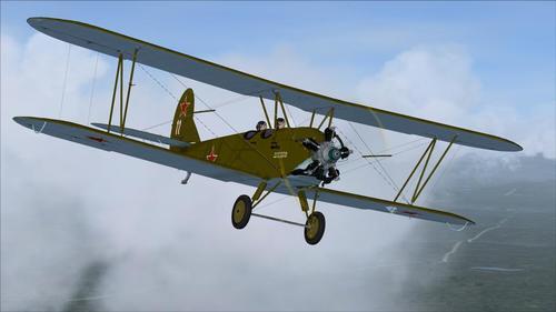 Polikarpov U-2(Po-2) late series v1.0 FSX & P3D