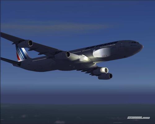 Airbus A340-300 Air France FS2004