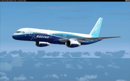 Posky ဘိုးအင်း 757-200 V1 သရုပ်ပြ FS2004