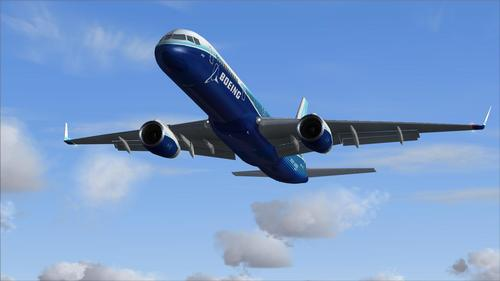 Posky Boeing 757-200 V1 Demonstrator FS2004