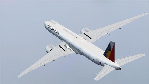 Posky Boeing 777-300ER Philippine Airlines FSX & P3D