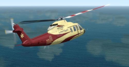 Sikorsky S76A Gees FSX & P3D