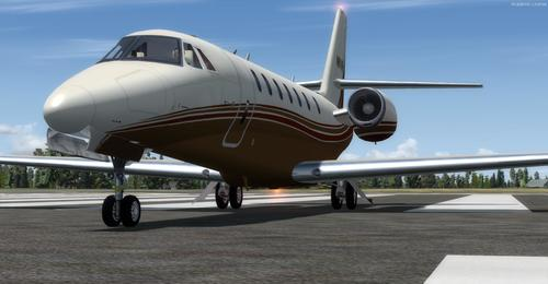 Cessna Citation Sovereign FSX va P3D