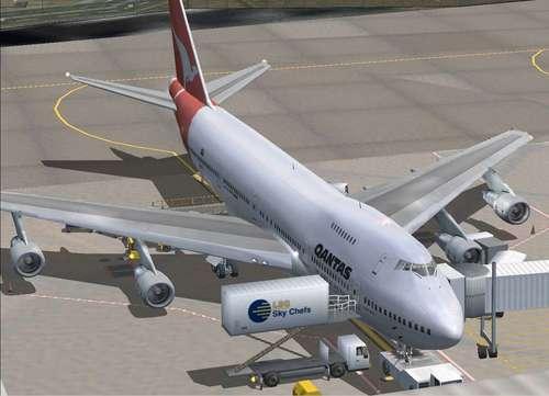 მზად რჩებოდა Boeing 747-200v2 FS2004