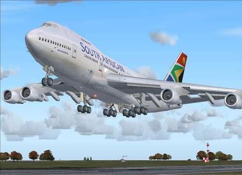 Ready For Pushback Boeing 747-200v2 FS2004