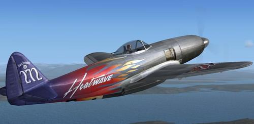 Republic XP-72 Escort FSX Native FSX & P3D