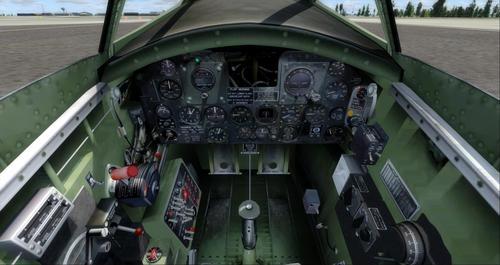 Cumhuriyeti XP-72 Escort FSX Yerel FSX ve P3D