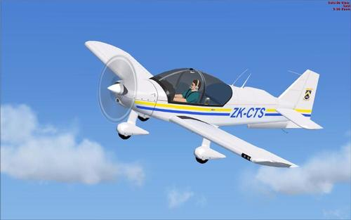 Robin R2160 Alpha & 160A FSX SP2 for
