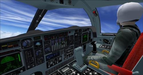 Rockwell B-1B Lancer AlphaSim FSX