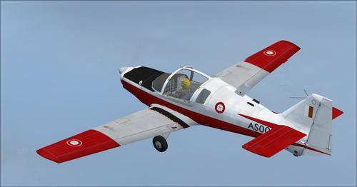 İskoç Havacılık Bulldog T. MK1 Trainer FS2004