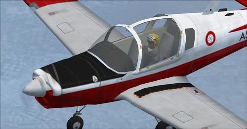 Scottish Aviation Bulldog T. MK1 Trainer FS2004