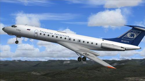 SCS Tu-134A v1.2 FS2004