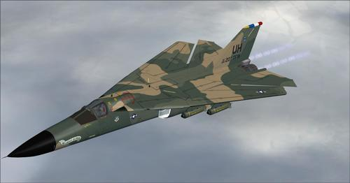 SHRS ف-111 Aardvark FSX SP2 ۽ P3D