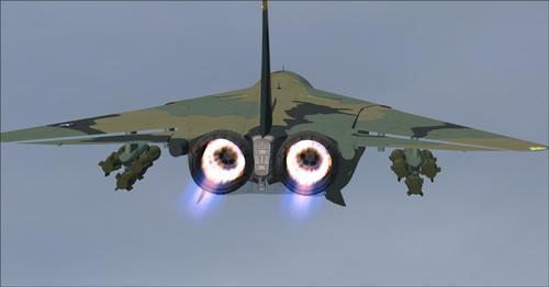 SHRS F-111 Aardvark FSX SP2 & P3D