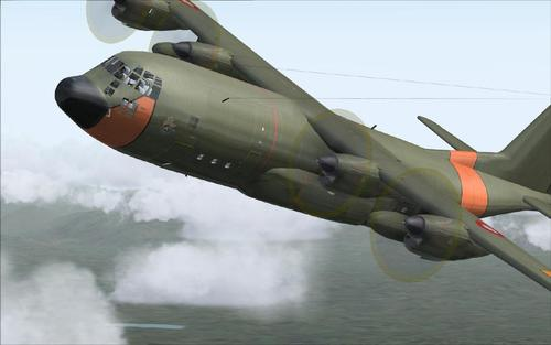 Lockheed SIMSHED C-130 Earcail RDAF FS2004