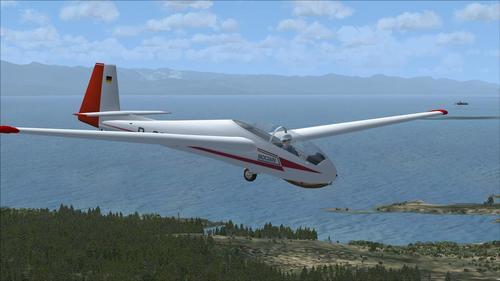 SZD Bocian Glider v6 FSX