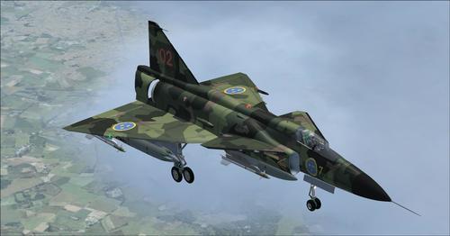 薩博J37裝備該國FSX和P3D