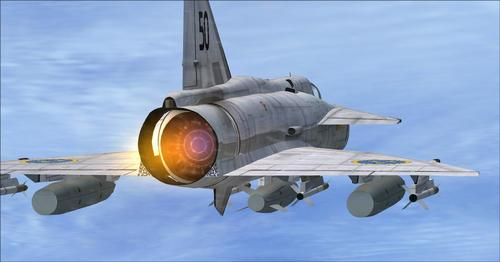 Saab J37 Viggen FSX & P3D