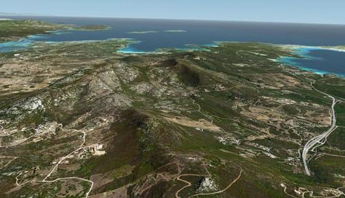 Sardinia Photoreal FSX  &  P3D part1