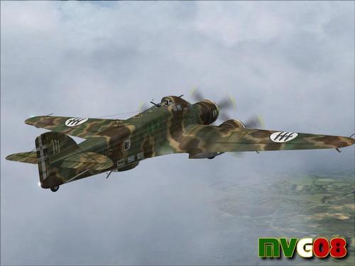 Savoia Marchetti एसएम 79 MVG FSX और P3D