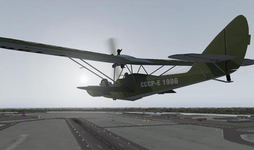 ഷാവ്റോവ് 1930 Sh-2 v1.5 X-Plane  9