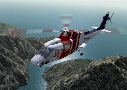 Sikorsky - S76 Barcode FS2004