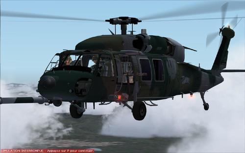 சிக்கோர்க்ஸ்கி Pavehawk இம்-60 FS2004