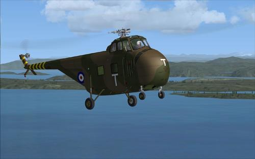Sikorsky S-55 Whirlwind FSX