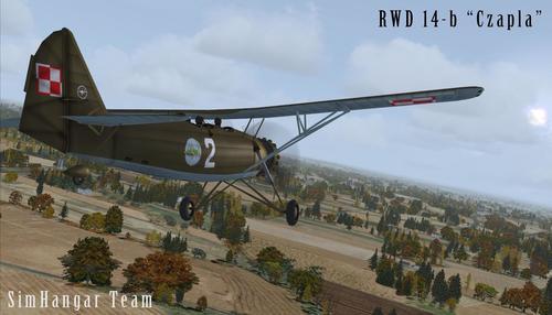 Simhangar RWD-14b FSX & P3D