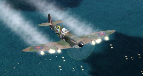 Spitfire Mk 1A FSX și P3D