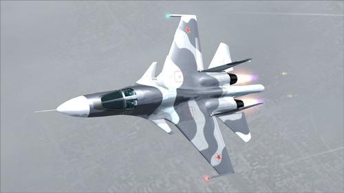Szu-34 Strike oldalbástya FS2004